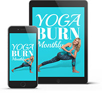Yoga Burn Monthly Tablet and Phone iPhone